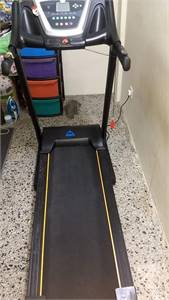 Treadmill with sound system