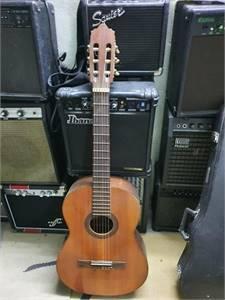 Abe Gut Zen On Guitar