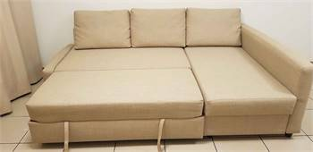 Sofa Com Bed L Shape Good Condition Neat And Clean