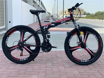 Land Rover Alloy Wheels Folding Bicycle