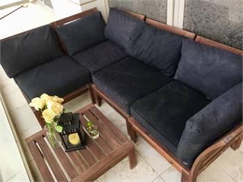 Ikea outdoor furniture set