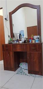 Fridge  Cupboard Dressing table For Sale
