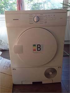 Siemens Condenser Dryer Slightly Use