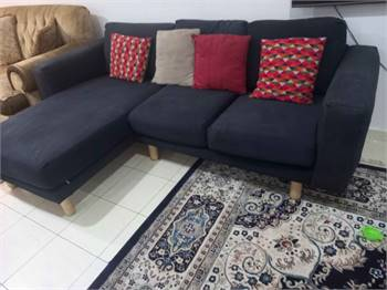 Ikea L Shape Sofa In Good Condition