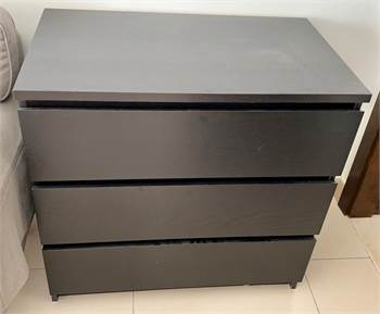 Malm Drawers Brown From Ikea