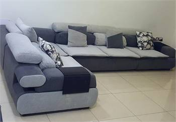 Solid wood Sofa set with removable fabrics