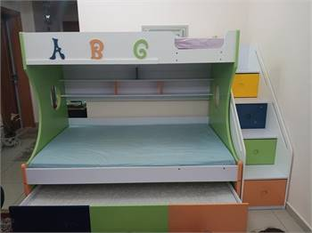 Kids bed 3 in 1