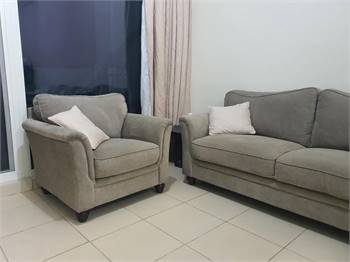 Home Center 6 Seater Sofa Slightly Used