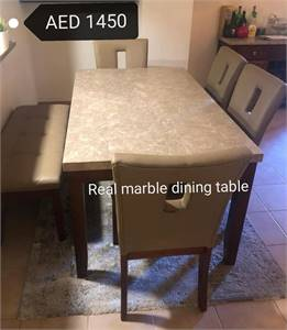 Real Marbel Dining Table