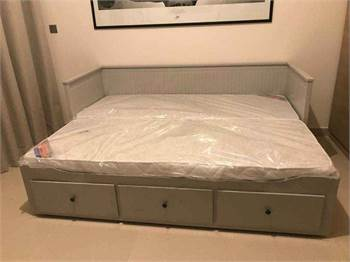 Ikea Day Bed With Two Mattresse New
