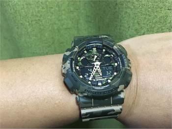 G Shock Camoflauge Watch