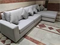 L shape large size Couch