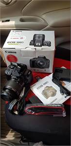 Canon 100d touch screen DSLR
