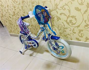 Frozen Bike bought from Baby shop / Brand new Condition /