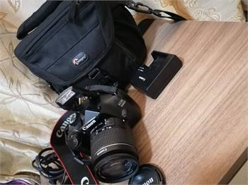 1100d`Canon Dslr With Lens 18-55mm