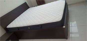 Pan Emirates king size bed with mattress