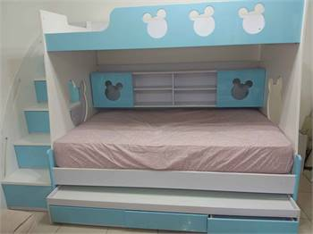 Mickey kids bed 3 in 1