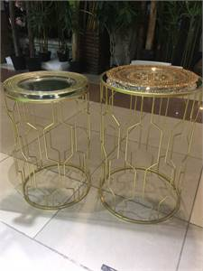 Glass Set Table
