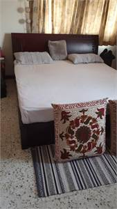Bedroom Set (Bed With Matching Wardrobe)