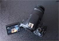 700d Canon Touch Screen With Kit Lens