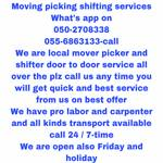 MOVING PICKING 055 6863133-SERVICES IN UAE