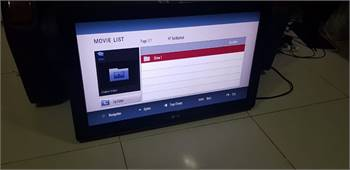 LG 32 inches LCD with free wall hanging bracket