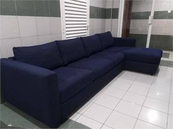 Ikea L shape couch with spacious storage