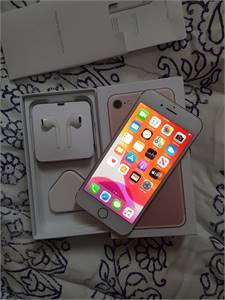 I Phone 7 128gb rose gold