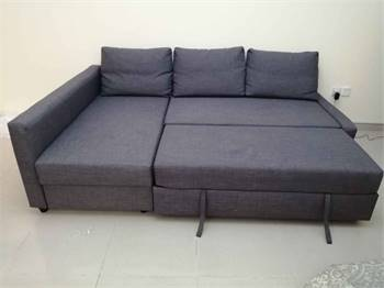 Ikea L Shape Sofa Bed For Sale