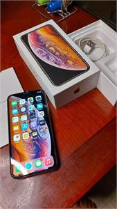 Iphone Xs Gold Facetime 64Gb Complete Box