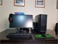 FULL SET Gaming PC + 144Hz 24-inch Monitor