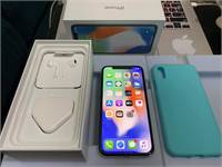 iPhone X 256GB Silver Like New Perfect Condition