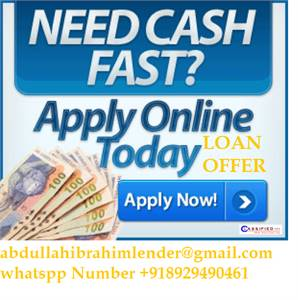 Are you in need of Urgent Loan Here