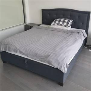 King Size Storage Bed + Mattress