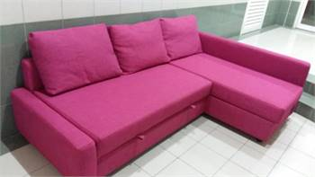 IKEA L shape sofa bed