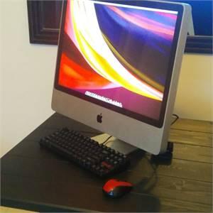 Apple iMac 24 inches Processor Intel core2duo 2.93GHz Memory. 6GB 1333 DD3 Graphics. Nvidia