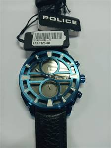 """Police Watch """" 70% discount sale."""