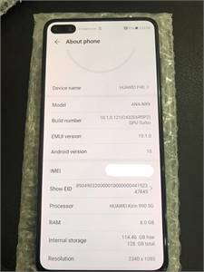 Huawei P40 128GB, only phone