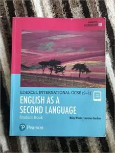 Pearson Edexcel IGCSE English textbook for sale