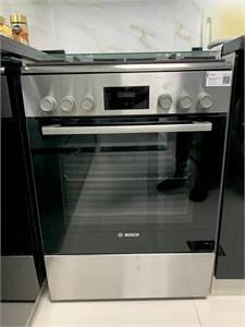 Bosch top gass oven has electric cooking rang
