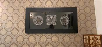 Decorative frame from Q home decor