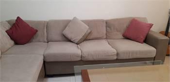 L Shaped Sofa (Home Center)