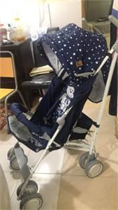 Baby Stroller Lorelli L10021311832A-Ida+Ayaqlıq Teddy Bear