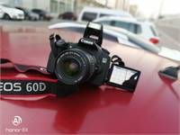 Canon 60 D With 18-55 Mm Lens