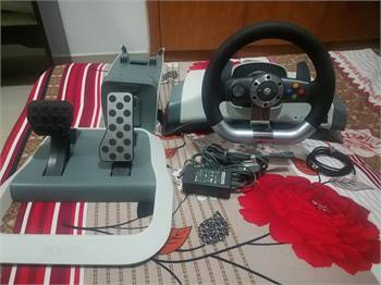 Steering wheel kit for Xbox 360.(with vibration and natural effects)
