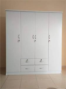 Brand new 2-3-4-door wardrobe available
