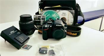 Nikon Dslr's Camera D3200