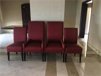 Set Of High Quality Dining 4 Chairs