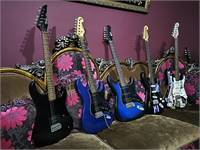 Very Nice Electrical Guitars + Amp for Sale