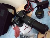 60d Canon + 2 Lens+Memorycard